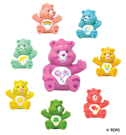 Click for FULL SET OF 8PC CARE BEAR SERIES 1 FIGURES EDITION Detail