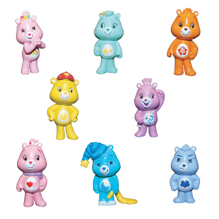 Click for FULL SET OF 8PC CARE BEAR SERIES 2 FIGURES EDITION Detail