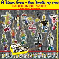 Click for FULL SET OF 11PC CARTOON NETWORK CHAINABLE COLLECTION Detail