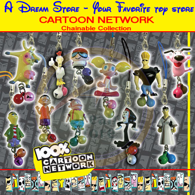 Detail Picture for FULL SET OF 11PC CARTOON NETWORK CHAINABLE COLLECTION