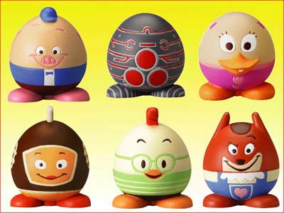 Click for FULL SET OF 6PC DISNEY CHICKEN LITTLE EGG-STRA FUN FIGURE COLLECTION Detail