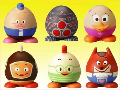 Detail Picture for FULL SET OF 6PC DISNEY CHICKEN LITTLE EGG-STRA FUN FIGURE COLLECTION