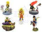 Picture for FULL SET OF 5PC DRAGON BALL Z GASHAPON FIGURE PART 2
