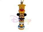 Click for FULL SET OF 8PC WINNIE THE POOH AND FRIENDS TOTEM POLE CELL PHONE STRAP FIGURE COLLECTION Detail