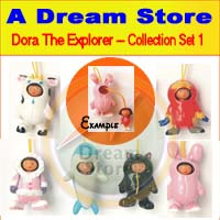 Click for FULL SET OF 6PC DORA THE EXPLORER COLLECTION SET 1 Detail