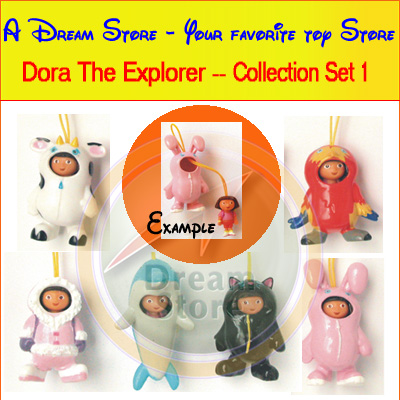 Detail Picture for FULL SET OF 6PC DORA THE EXPLORER COLLECTION SET 1