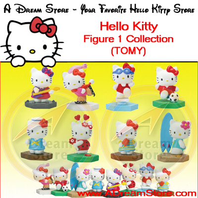 Detail Picture for FULL SET OF 8PC HELLO KITTY FIGURE COLLECTION
