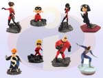 Picture for FULL SET OF 8PC THE INCREDIBLES MOVIE FIGURE COLLECTION BY TOMY