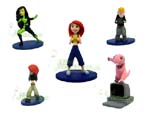 Picture for FULL SET OF 5PC THE KIM POSSIBLE FIGURE COLLECTION BY TOMY