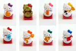 Picture for FULL SET OF 8PC HELLO KITTY LUCKY CAT COLLECTION