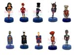 Click for FULL SET OF 10PC The Marvel Justice League Pencil Top Bobbleheads Detail