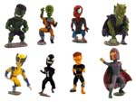 Click for FULL SET OF 8PC THE Marvel Bobbleheads FIGURE COLLECTION BY TOMY Detail