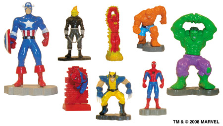 Click for FULL SET OF 8PC MARVEL HEROES BUILDABLE FIGURES COLLECTION Detail