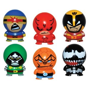 FULL SET OF 6PC MARVEL HEROES BUILDABLES SERIES 2 COLLECTION Picture