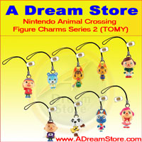 Click for FULL SET OF 8PC NINTENDO ANIMAL CROSSING FIGURE CHARM COLLECTION SERIES 2 Detail