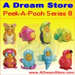 Click for FULL SET OF 8PC WINNIE THE POOH PEEK-A-POOH FIGURE COLLECTION SERIES 8 Detail