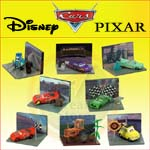 Click for FULL SET OF 8PC DISNEY PIXAR MOVIE CARS FIGURE COLLECTION SERIES 1 Detail