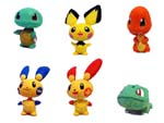 Picture for FULL SET OF 6PC THE POKEMON BOBBLEHEAD FIGURES COLLECTION BY TOMY