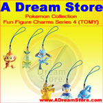 Click for FULL SET OF 6PC THE POKEMON FUN FIGURE CHARMS COLLECTION SERIES 4 BY TOMY Detail