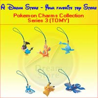 Click for FULL SET OF 6PC THE POKEMON CHARMS COLLECTION 3 BY TOMY Detail