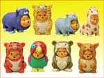 Click for FULL SET OF 8PC WINNIE THE POOH Peek-A-Pooh FIGURE COLLECTION SERIES 5 Detail