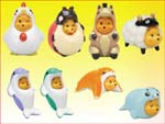 Click for FULL SET OF 8PC WINNIE THE POOH Peek-A-Pooh FIGURE COLLECTION SPECIAL SERIES Detail
