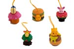 click for FULL SET OF 5PC WINNIE THE POOH AND FRIENDS Peek-A-Pooh FIGURE COLLECTION Japan Verison detail