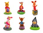 Click for FULL SET OF 6PC Winnie the Pooh Bobblehead FIGURE COLLECTION Detail