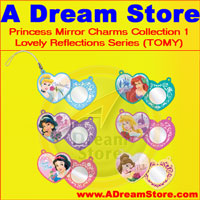 Click for FULL SET OF 6PC DISNEY PRINCESS MIRROR CHAMRS COLLECTION Detail