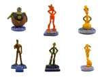 Click for FULL SET OF 6PC THE ROBOTS MOVIE FIGURE COLLECTION BY TOMY Detail