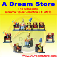 Picture for FULL SET OF 5PC THE SIMPSON DIORAMA FIGURE COLLECTION 3 MOVIE EDITION