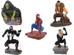 Click for FULL SET OF 5PC THE Marvel Spider-Man FIGURE COLLECTION Series 1 BY TOMY Detail