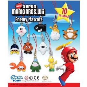 Click for FULL SET OF 10PC SUPER MARIO BROS. WII ENEMY MASCOTS Detail