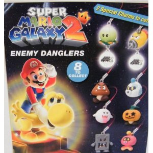 Click for FULL SET OF 8PC SUPER MARIO BROS. GALAXY 2 ENEMY DANGLERS Detail