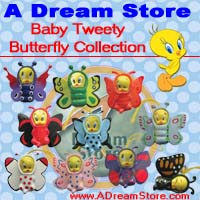 Click for FULL SET OF 10PC TWEETY BUTTERFLY FIGURE COLLECTION Detail