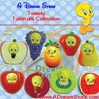 Picture for FULL SET OF 9PC TWEETY FRUIT WEAR FIGURE COLLECTION