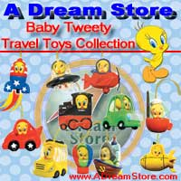Click for FULL SET OF 11PC TWEETY TRAVEL TOYS FIGURE COLLECTION Detail