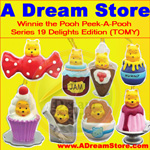 Click for FULL SET OF 8PC WINNIE THE POOH Peek-A-Pooh DELIGHTS EDITION CANADA VERSION Detail