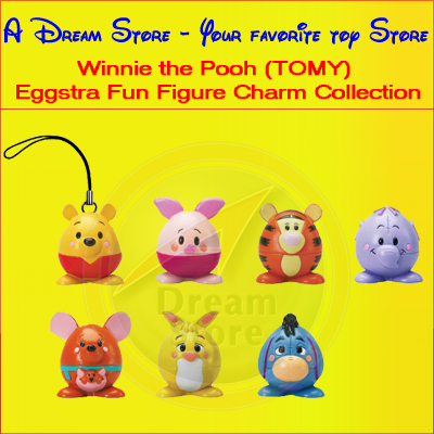 Detail Picture for FULL SET OF 7PC WINNIE THE POOH EGG-STRA FUN FIGURE COLLECTION