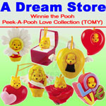 Click for FULL SET OF 8PC WINNIE THE POOH Peek-A-Pooh LOVE COLLECTION Italy Verison Detail
