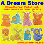 Picture for FULL SET OF 8PC WINNIE THE POOH Peek-A-Pooh Mini Me EDITION CANADA VERSION