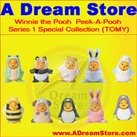 Click for FULL SET OF 10PC WINNIE THE POOH PEEK-A-POOH FIGURE COLLECTION SERIES 1 SPECIAL REPRODUCTION Detail