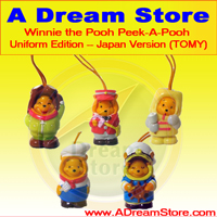 Picture for FULL SET OF 5PC WINNIE THE POOH Peek-A-Pooh FIGURE COLLECTION Japan version