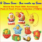 Click for FULL SET OF 7PC WINNIE THE POOH PEEK-A-POOH X