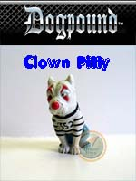 Click for Homies Dog Pound Series 1 Clown Pitty Detail