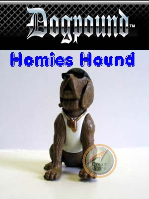 Detail Picture for Homies Dog Pound Series 1 Homies Hound