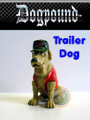 Detail Picture for Homies Dog Pound Series 1 Trailer Dog