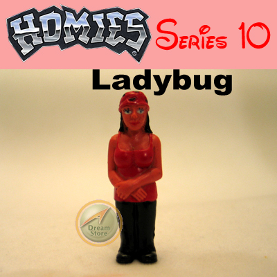 Detail Picture for HOMIES SERIES 10 Ladybug