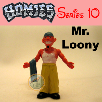Detail Picture for HOMIES SERIES 10 Mr. Loony