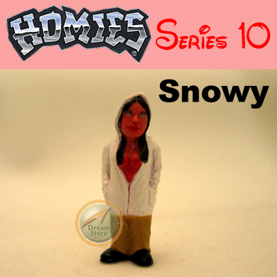 Detail Picture for HOMIES SERIES 10 Snowy